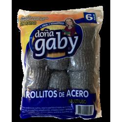 Doña Gaby Rollitos de Acero Multiuso