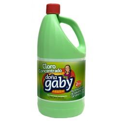 """Cloro Concentrado Color """"Doña Gaby""""  2 L"""