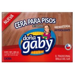 """Cera Pan Caoba """"Doña Gaby"""" 400 Ml."""