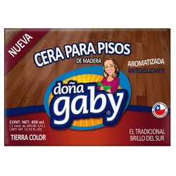 "Cera Pan Tierra Color ""Doña Gaby"" 400 Ml."