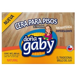 "Cera Pan  Natural ""Doña Gaby"" 400 Ml."