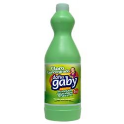 """Cloro Concentrado Color """"Doña Gaby""""  1L"""