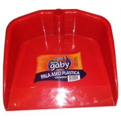 """Palas Plásticas Mango Fijo """"Doña Gaby""""  ROJO"""
