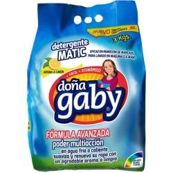 """Detergente Premium Polvo  """"Doña Gaby""""  3 K"""